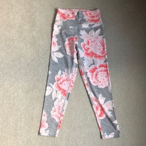 """Aerie Floral """"Chill Play Move"""" Leggings"""